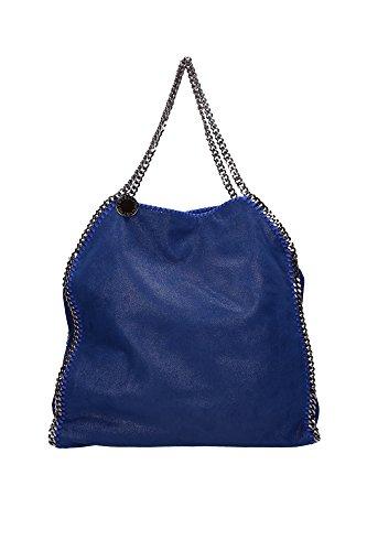 Borse a Spalla Stella McCartney Donna Eco Pelle Blu 229034W91324040 Blu 12x42x42 cm