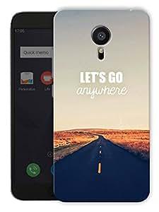 "Humor Gang Let'S Go Anywhere Printed Designer Mobile Back Cover For ""Meizu Mx5"" (3D, Matte, Premium Quality Snap On Case)"