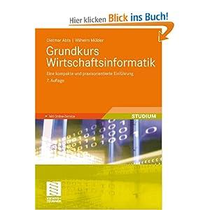 eBook Cover für  Grundkurs Wirtschaftsinformatik Eine kompakte und praxisorientierte Einf xFC hrung