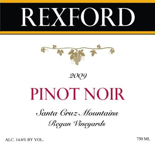 2009 Rexford Winery Pinot Noir Santa Cruz Mountains, Regan Vineyards 750 Ml