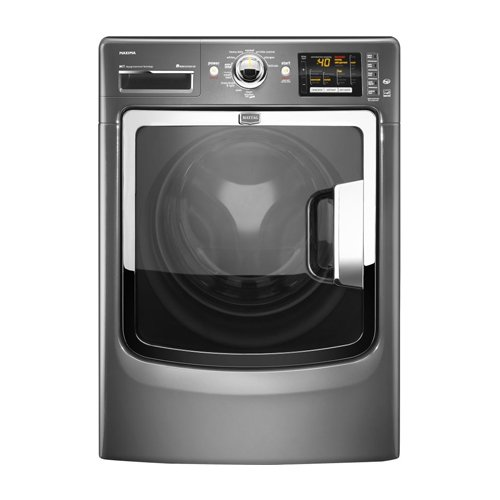Maytag Maxima 4.3 Cu. Ft. Gray Front Load Washer - MHW6000XG