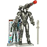 Iron Man 2 Movie Series 4 Tall Action Figure Set #12 - WAR MACHINE With Snap-On