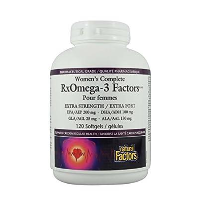 Women's Complete Rxomega-3 Factors Extra Strength 120 Softgels