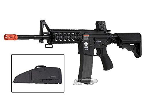 Combat Machine M4 Raider with Polymer RIS AEG (Black) (Gun Bag Combo) (Combat Machine M4 compare prices)