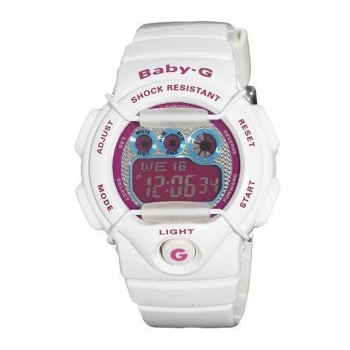 Casio Women's BG1005M-7 Baby-G Multi-Function Digital White Watch