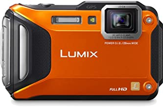 Panasonic Lumix DMC-TS5 16.1 MP Tough Digital Camera with 9.3x Intelligent Zoom (Orange)