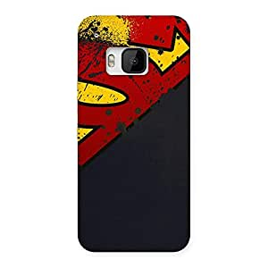 Cute Uper Multicolor Print Back Case Cover for HTC One M9
