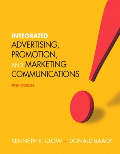 Integrated Advertising, Promotion and Marketing...