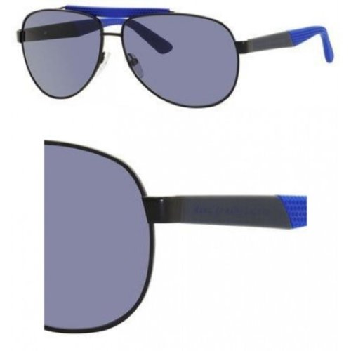 Marc By Marc Jacobs Marc by MJacobs MMJ363/S Sunglasses-09GY Matte Black (KU Blue Avio Lens)-61mm