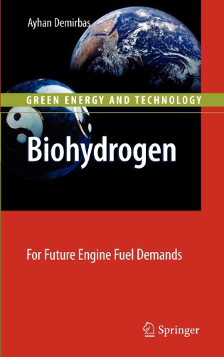 Biohydrogen: For Future Engine Fuel Demands (Green Energy And Technology)