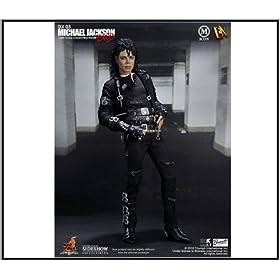 "Hot Toys Movie Master Piece Michael Jackson 'BAD' 12"" FIgure MISB"