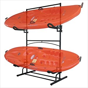 Click to read our review of SpareHand Malibu Plus Dual Kayak Storage Rack