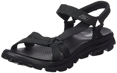 SKECHERS 14245/BBK go walk move-river walk sandalo donna (40)