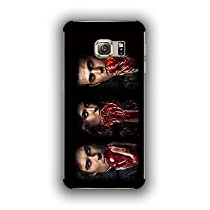 Caseque (Pro) The Vampire Diaries! Back Shell Case Cover for Samsung Galaxy S6 Edge