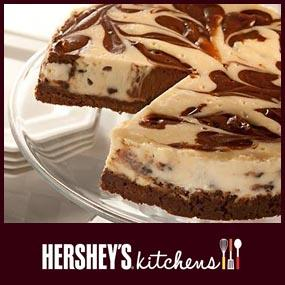 Hershey's Swirled Chocolate Chip Cheesecake Recipe
