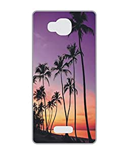Techno Gadgets Back Cover for Huawei Honor Holly