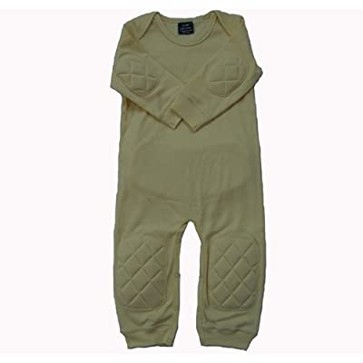 Crawling Padded Bodysuit or Baby Romper
