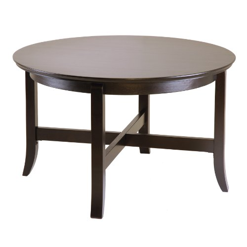 Winsome Wood Toby Coffee Table (Espresso Round Coffee compare prices)