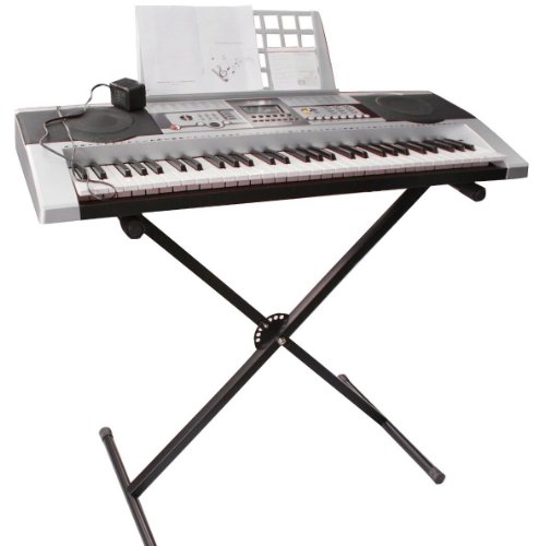 Adjustable Metal Music Keyboard Electronic Piano X Stand Standard Portable Rack