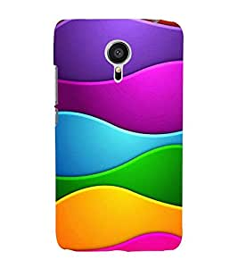 A GIRL ON A BEACH ADMIRING NATURE 3D Hard Polycarbonate Designer Back Case Cover for Meizu m3