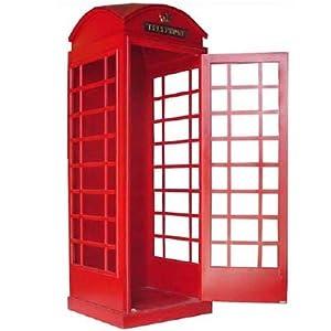 Londoner Telefonzelle Gartendeko