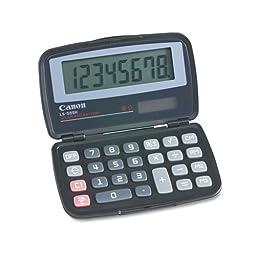 Canon LS555H Handheld Foldable Pocket Calculator, 8-Digit LCD