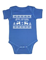 Festive Threads Christmas Sweater Bodysuit
