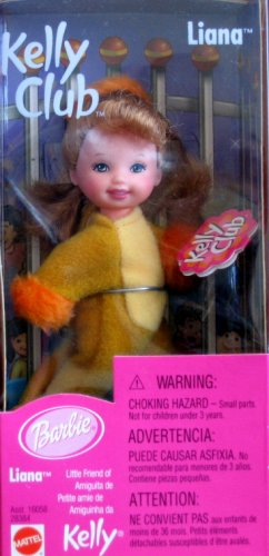 Barbie Kelly Club - Liana Lion Doll (2000) - 1