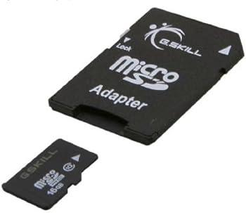 G.SKILL 16GB MicroSDHC Flash Card