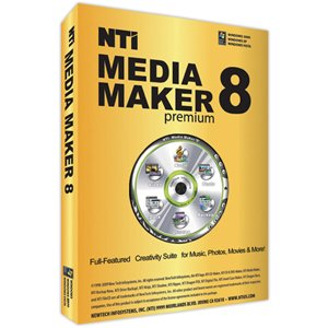 NTI Media Maker 8 Premium DVD [Old Version]