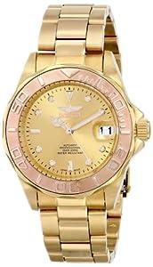 Invicta Men's 13930 Pro Diver Analog Display Japanese Quartz Gold Watch