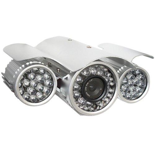 Gw Security 700 Tv Lines 6Mm Lens Cctv Waterproof Outdoor Ir Security Camera (W/ Mounting Bracket) - 328Ft Ir Long Distance, 48 X ¢8 + 24 X ¢5 Pcs Ir Leds