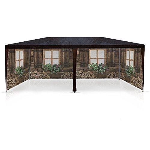pavillon skih tte almh tte partyzelt 3x6m bierzelt gartenlaube h ttendesign pavillion. Black Bedroom Furniture Sets. Home Design Ideas