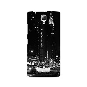 TAZindia Printed Hard Back Case Cover For Lenovo A2010