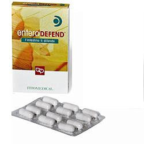integratore alimentare enterodefend ad azione immunostimolante 12 capsule 500 mg