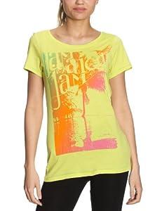 PUMA Damen T-Shirt Tee 1 Organic Cotton, limeade, XS, 557254 01
