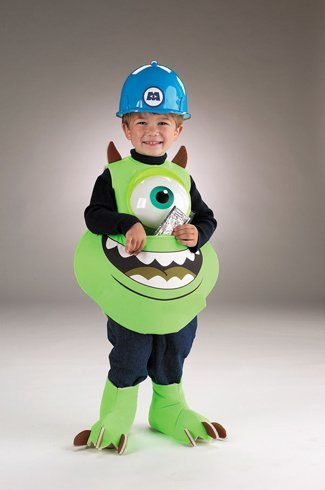 Monsters Inc. Disney Mike Candy Catcher Child Costume - Kid's Costumes