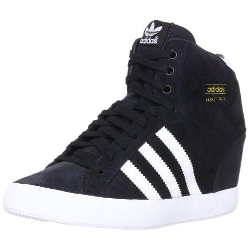 [アディダス オリジナルス] adidas originals BASKET PROFI HEEL W G95650 ブラック/ランニングホワイト/ランニングホワイト (ブラック/ランニングホワイト/ランニングホワイト/US6.5)