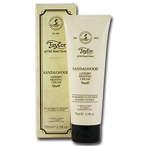 Taylors of Old Bond Street Shaving Cream (75g, Sandalwood)