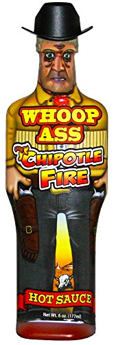 Whoop Ass Chipotle Fire Hot Sauce