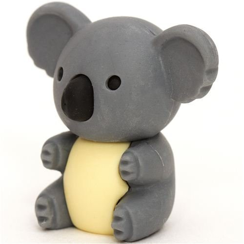 Iwako Grey Koala Bear Eraser By From Japan - 1