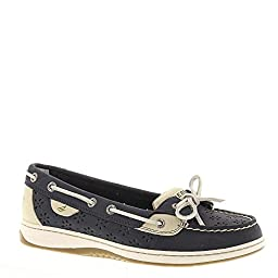Women\'s Sperry, Angelfish Perf NAVY 12 M