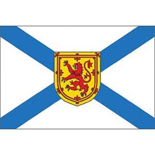 Nova Scotia Findingking flag su un bastone 30,48 cm x 45,72 cm