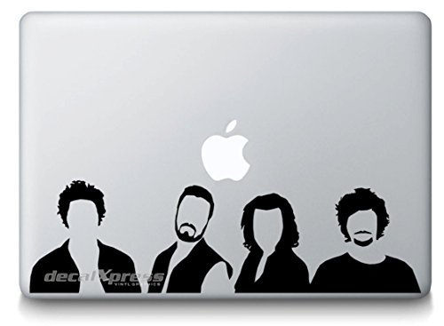 stickerartistry Rock Band One Direction - Mac-book Air-pro 11'13'15' 17' Stickers,decal ... (One Direction Macbook Cases compare prices)