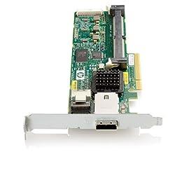 HP 462828-B21 Smart Array P212/ZERO Memory Controller RAID 8-Ports SAS PCI Express x8 300Mbps SFF-80