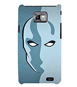 TOUCHNER (TN) Art Face Back Case Cover for Samsung Galaxy S2::Samsung Galaxy S2 i9100