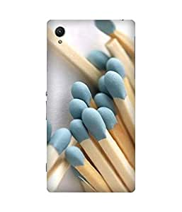 Matchsticks Printed Back Cover Case For Sony Xperia Z1