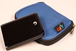 SVVM Seagate/Western Digital Hard Disk Cases, Hard Disk Covers Model: S37-Sky Blue