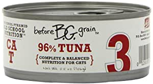 Merrick Before Grain #3 Tuna Paté Style Cat Food, 5.5 Ounce Can (24 Count Case)