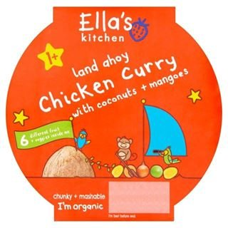 Little Big Meal Chicken Curry Stage 4200g By Ella's Kitchen